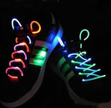led shoelaces spice up your evening run with led shoelaces things