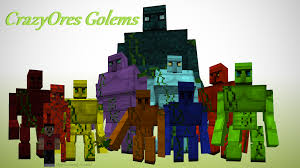 1 7 10 crazyores dungeons epic golems mobs food unique