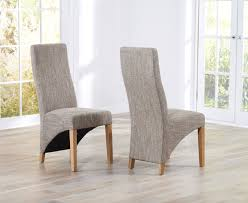Fabric Dining Chairs Uk Popular Dining Room Designs Plus Light Oak Dining Chairs Uk