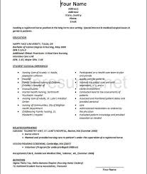 New Graduate Resume Examples by New Graduate Nursing Resume U2013 Resume Examples