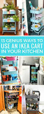 Ikea Raskog Rolling Cart 13 Super Clever Ikea Raskog Cart Uses For The Kitchen Just