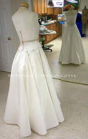 wedding dress bustle bustles