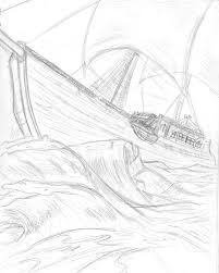 ship in the storm by arisuhime on deviantart