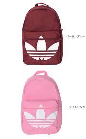 adidas classic trefoil backpack light pink ice field rakuten global market adidas adidas trefoil classic
