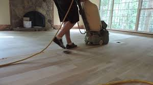 sanding hardwood floors belt sander drum sander