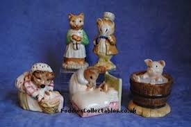 beatrix potter collectable figurines from foddies collectables