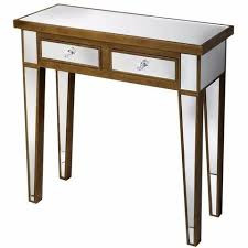 Venetian Mirrored Console Table Mirrored Furniture Serendipity Home Interiors