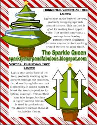 how to put lights on a christmas tree video the sparkle queen the art of lighting a christmas tree vertical vs