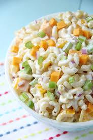 creamy pasta salad recipe creamy cheddar macaroni salad a pretty life in the suburbs
