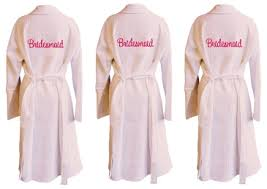 waffle robes for bridesmaids bridesmaids embroidered waffle bathrobe set an affair to remember