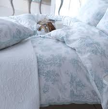 Duck Egg Blue Bed Linen - country living pastorale toile de jouy duck egg duvet cover