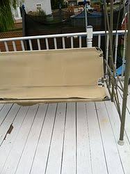 Replacement Fabric For Patio Swing Any Ideas On How I Can Fix A Patio Swing Hometalk