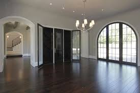 built in wine rack transitional dining room