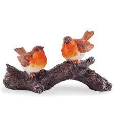 mr mrs robin bird garden ornament gardens2you