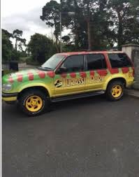 jurassic world jeep there s an actual replica of the jurassic park jeep on sale in kildare