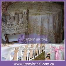 cheap lace overlays tables tl002r2 fancy chagne wedding lace fabric 132 round table cloth