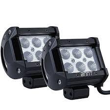 led tractor light bar masione 18w led work light bar 1260lm waterproof headlight flood