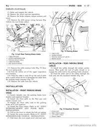 brake rotor jeep grand cherokee 2003 wj 2 g workshop manual