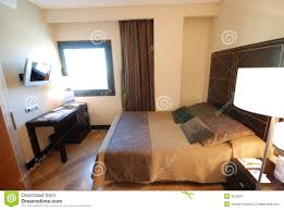 modern hotel room design perfect hotel room modern interior stock