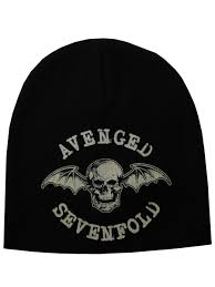 Avenged Sevenfold Flag Avenged Sevenfold Beanie Death Bat Buy Online At Grindstore Com