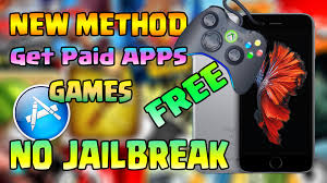 new method get paid apps games for free no jailbreak iphone