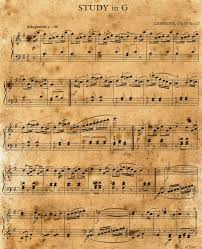 free vintage halloween printables buy an itunes gift card print some sheet music and shred it as