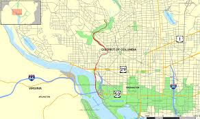 Map Of The National Mall Rock Creek And Potomac Parkway Wikipedia