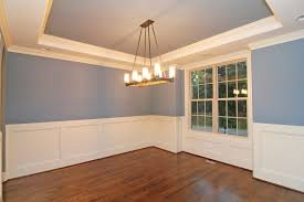 Wainscoting In Dining Room Full Brick Raleigh Homes U2013 Stanton Homes