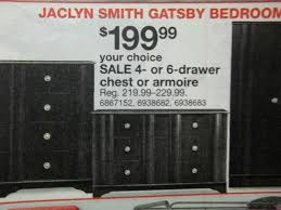 Jaclyn Smith Bedroom Furniture by Your Choice 199 99 Jaclyn Smith Gatsby Bedroom Collection Shop