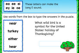 word bank e sound interactive worksheets anywhere