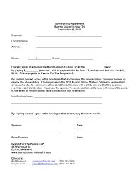 doc 460595 sponsorship agreements u2013 sponsorship agreement