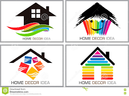 Home Decor Images Free by Home Decor Idea Logos Stock Vector Image 73581999