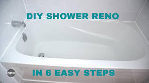 diy how to renovate the tub shower from a to z youtube