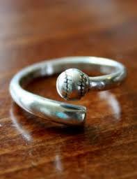Baseball Wedding Ring by Baseball Jewelry