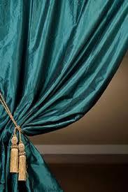Teal Taffeta Curtains Hamilton Gilded Teal Curtain Teal Rod Pocket And Room