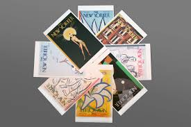 postcards from the new yorker one hundred covers from ten decades