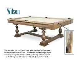 Wilson Foosball Table Contemporary Trends Robertson Billiards