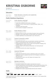 Resume Examples 2014 by Public Relations Manager Resume Samples Visualcv Resume Samples