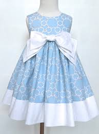 light blue dresses for kids easter dress blue and white paisley special occasions