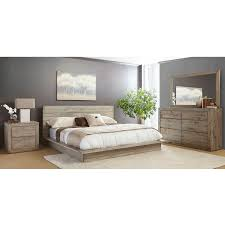 Pine Platform Bed With Headboard Renewal Platform Bed Bernie U0026 Phyl U0027s Furniture By Warehouse M