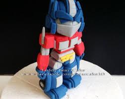 transformer cake topper transformers cake etsy