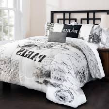 black and white comforter sets king bed set chess board motive