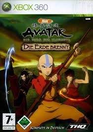 avatar airbender burning earth 2007 playstation