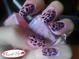 45 most stylish purple leopard print nail art design