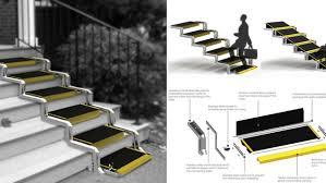 pedana per disabili soluzioni di scale per disabili bcasa