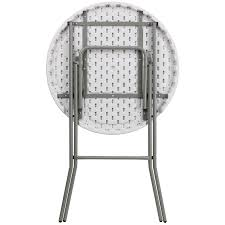 round folding tables for sale plastic round folding highboy table bar height highboy table com