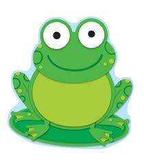 frog cut outs grade pk 8 carson dellosa publishing