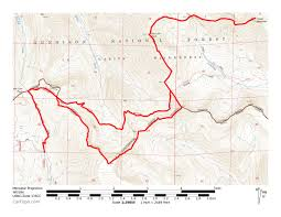 Colorado 14er Map by 13300 13180 13155 San Luis Peak U0026 Organ Mountain Trip Reports