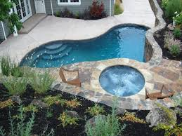 backyard pool designs for small yards best 25 small inground pool