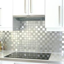 carrelage cr馘ence cuisine cuisine credence inox carrelage metro salle de bain 6 mosaique